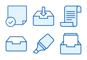 Office - Monochrome Icons