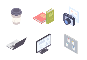 Office Vol. 2 - Isometric - Color