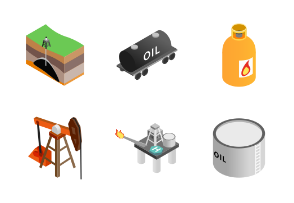 Oil industry - isometric