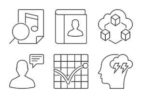 Outline SEO Icons