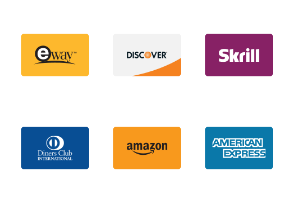 Payment Methods Cards Flat Color