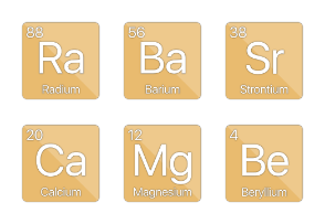Periodic Elements - Alkali Metals & Alkaline Earths