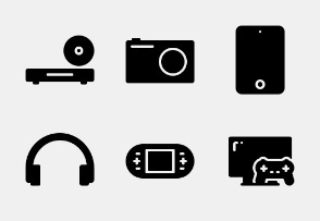 Phone and Gadget glyph