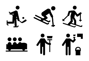 Pictograms Glyphs 6