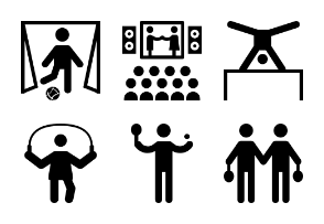 Pictograms Glyphs 2