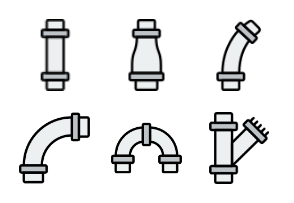 Pipes & Water Flow - Retro