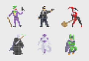 Pixel Super Villains