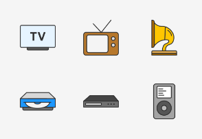 Players & Consoles - Colored