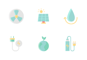 Power And Energy Without Color Iconset