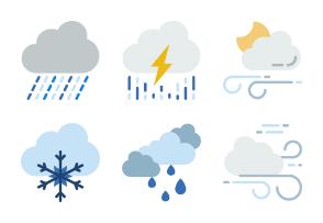 Prettycons - Weather Vol.1 - Flat