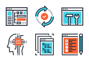 Program Coding Icons