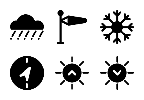 Relief Weather Glyph