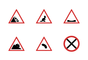 Road Signs Flat