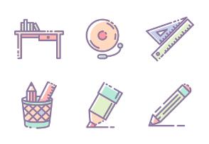 School color set