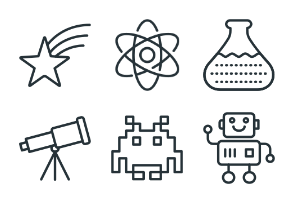 Science - Stroke Icons