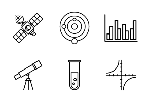 Scientific icons