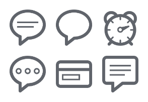 SEO / Marketing Outline Icon Set