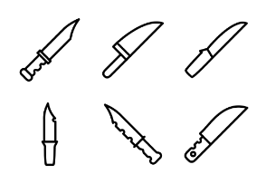 Set of Knives