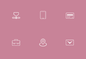 Slim Rounded Icons