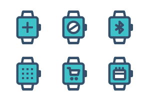 Smart Watch ( Outline Filled )