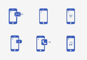 Basic Smartphones States -Glyph