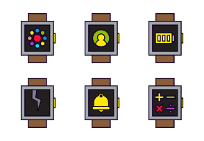 Smartwatch Line Color