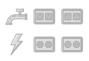 Smashicons Construction - Greyscale - Vol 3