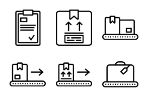 Smashicons - Delivery Outline