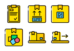 Smashicons - Delivery Yellow