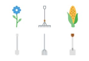 Smashicons Farming - Flat