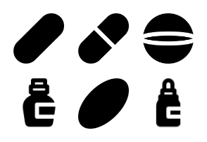 Smashicons Medical MD - Solid - Vol 3