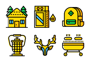 Smashicons Outdoors 2 - Yellow