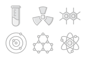 Smashicons Science - Greyscale - Vol 1