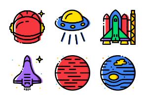 Smashicons Space - Cartoony