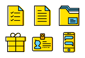 Smashicons The Essentials - Yellow - Vol 2