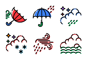 Smashicons Weather - Cartoony