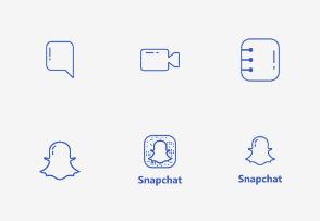 Snapchat UI