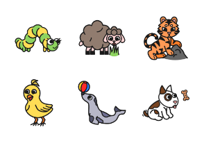 Some more animals 2 in color