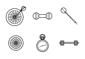 Sport Set Outline