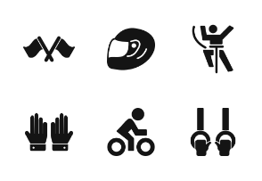 Sports And Games Glyph