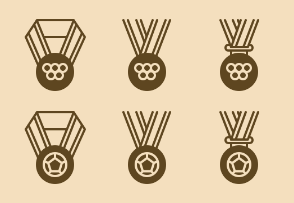 Sports Medals (style 2)