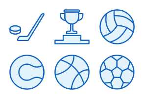 Sports - Monochrome Icons