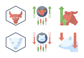 Stock Investment Flaticons