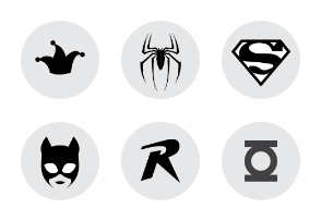 Superheroes Set