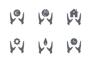 Support and Management - Glyph Style