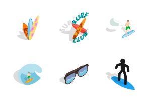 Surfing - Isometric