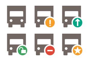 Symbol Color Transport 1