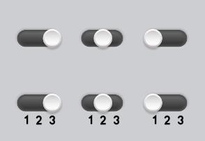 Three phase switch