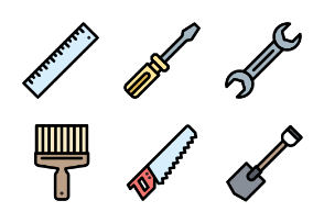 Tools (Filled Line)