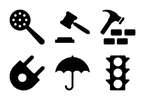 Tools Solid Icons Vol 2